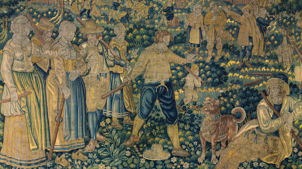 Тканое великолепие: что смотреть на выставке фламандских шпалер