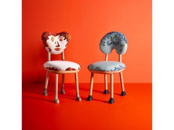Пьер Йованович представил в галерее R & Company новую коллекцию мебели Love