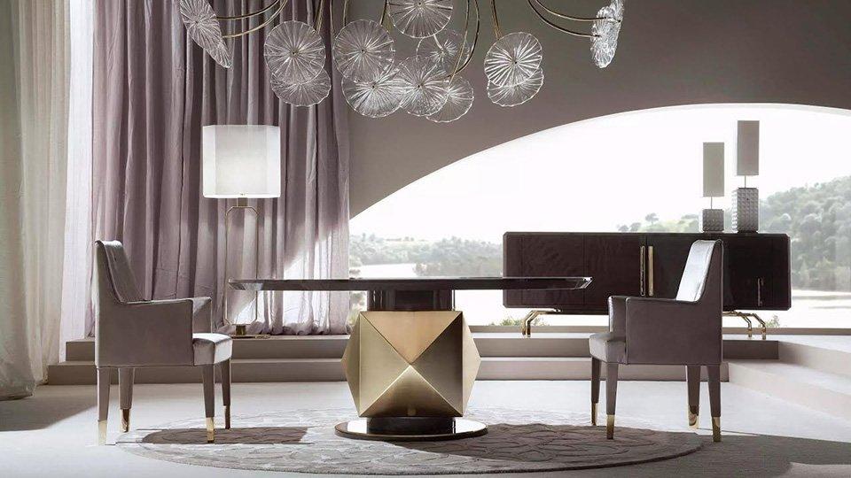 Материалы и форма: как сочетать предметы мебели из разных коллекций