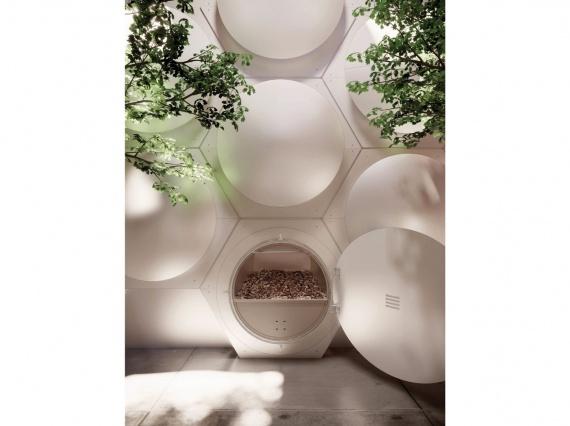 Olson Kundig Architects превратят человеческие тела в почву для растений