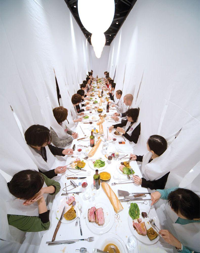 Обед, организованный Марейе Вогелсанг