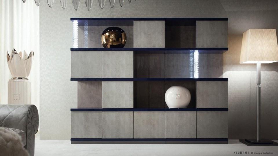 Модульный книжный шкаф из коллекции Alchemy, Giorgio Collection