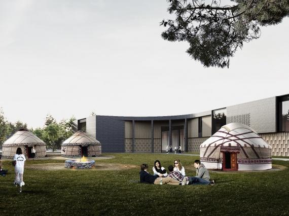 В Казахстане построят инновационную школу по проектуINDarchitects