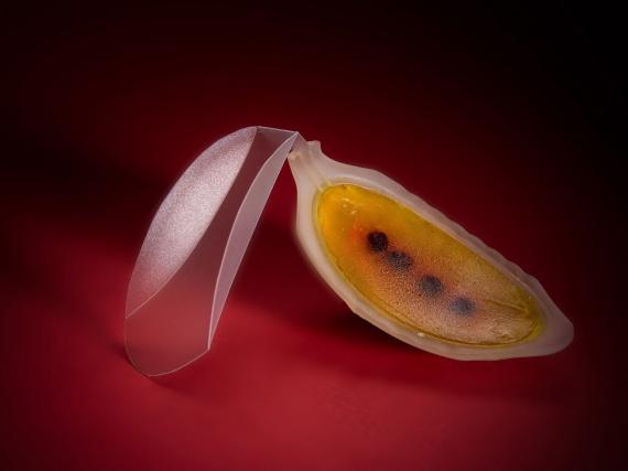 Мейдан Леви создает фрукты при помощи 4D-печати