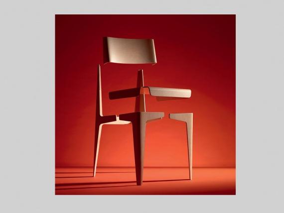 Barber & Osgerby обновили стул Shell в духе Баухауза
