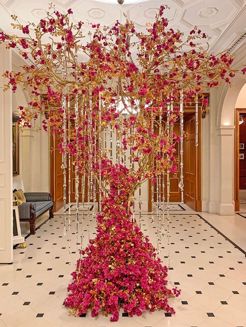 Дерево из красных кристаллов Ralph & Russo