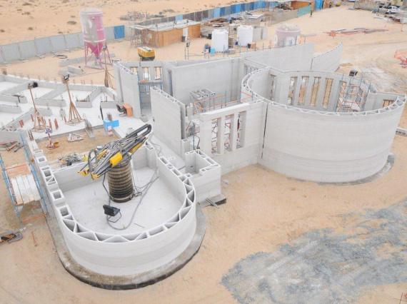 В Дубае построили крупнейшее в мире здание с 3D-печатью