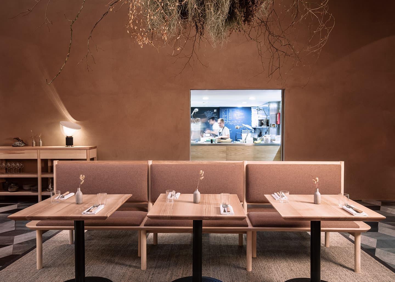 Дикая природа в интерьере ресторана Теренса Конрана
