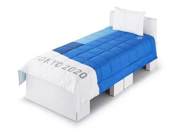 Картонные кровати для участников Олимпиады 2020 в Токио