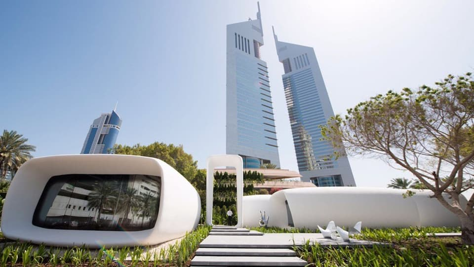 Напечатанный офис Dubai Future Foundation (фото: Goverment of Dubai)