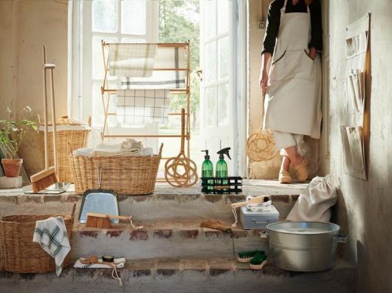 Компания ИКЕА выпустила коллекцию для экологичной уборки дома