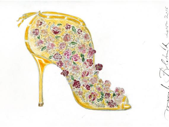Էրմիտաժի տեղի կունենա ցուցահանդես կոշիկների կողմից Manolo blahnik