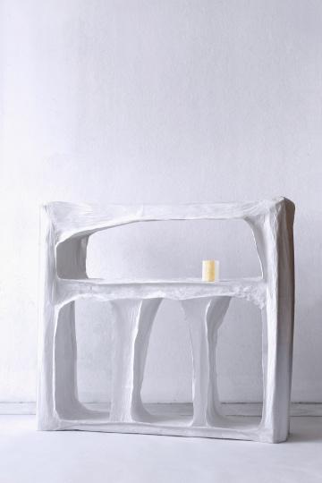 Пао Хуэй Као делает мебель из бумаги