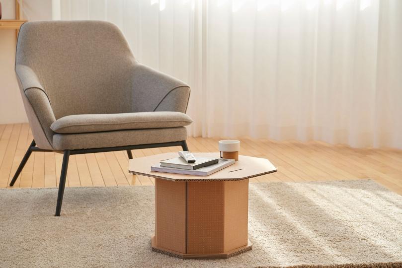 Samsung и Dezeen объявляют конкурс по созданию предметов для дома из картона