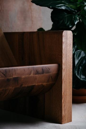 Три предмета из 130-летнего дерева от Odami